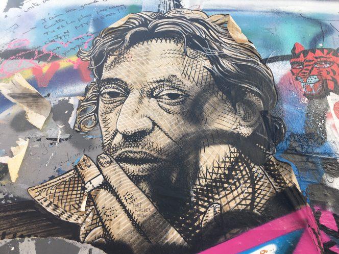 1顔の壁画